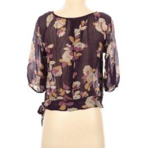 Moullinette Soeurs Silk Floral Top